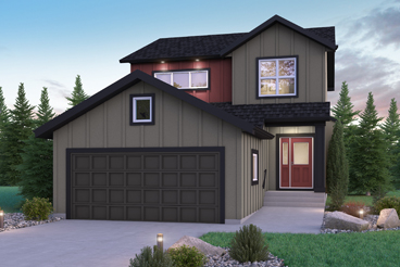 DG 18 D Cottonwood Elevation Broadview Homes