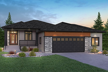 DG 50 A with Porch Broadview Homes