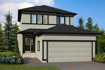 DG 8 B The Thorncliff Elevation with Stucco Broadview Homes 2-Storey