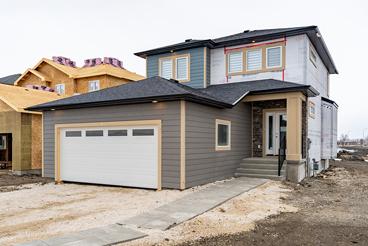 4 Merkel Manza - Front Exterior - The Dawson Broadview Homes Winnipeg