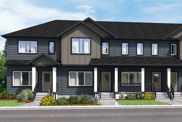 TH 5 The Newport Elevation A Broadview Homes Winnipeg